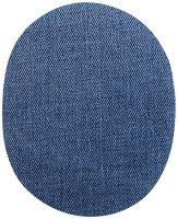 Patches Jeans groß mittelblau