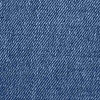 Jeans-Flecken  klein mittelblau