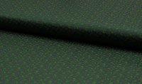 Dirndl Baumwolle Blüten dunkelgrün
