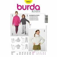 Burda Kids Hose & Shirt Kombi 9482