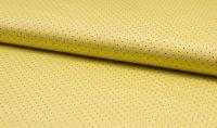 Dirndl Baumwolle Gelb punkte