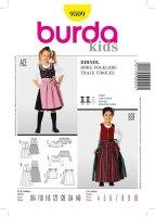 Burda Dirndlschnitt Kids 9509