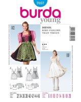 Burda Style Dirndlschnitt 7057