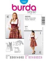Burda Style Dirndschnitt 7443