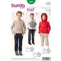 Burda Kids Sweater 9407