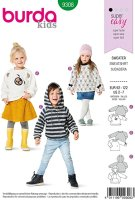 Burda Kids Sweater 9308