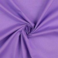 Baumwolle Fahnentuch lila hell
