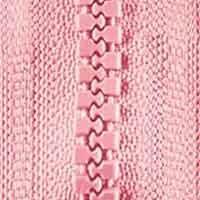 Opti-P60 Jackenreißverschluss rosa 0749