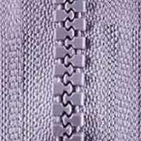 Opti-P60 Jackenreißverschluss flieder 4156