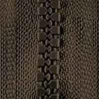 Opti-P60 Jackenreißverschluss oliv 0542