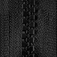 Opti-P60 Jackenreißverschluss schwarz 0000