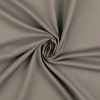 Baumwolle Fahnentuch grau