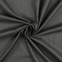 Baumwolle Fahnentuch dunkelgrau