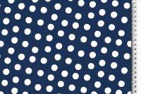 Regenjacke punkte blau