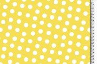 Regenjacke punkte gelb