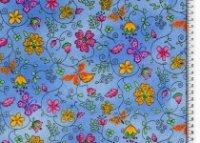 Organic Cotton Blumen Schmetterling