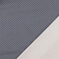 BW-Jersey punkte grau/weiß 0802