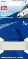 Saum-Vlies mit Trägerpapier 20mm/5m