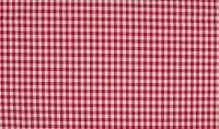 Baumwolle karriert rot /weiß