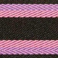 Gurtband lila/pink/schwarz