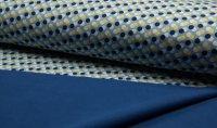Soft Shell Kreise/Punkte  hellblau