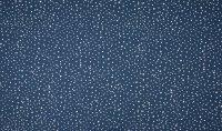 Baumwoll Jersey Dots blau