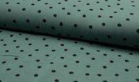 Musselin Bambino Dots mint 022