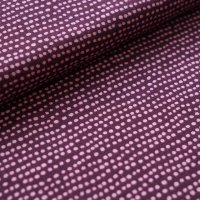 Bio Jersey Dotted line pflaume