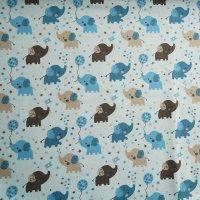 Bio Jersey Babyelefant grau