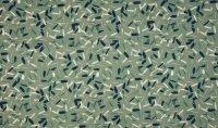 BIO Baumwoll Jersey Print grün
