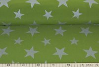 Softshell Reflex Sterne grün