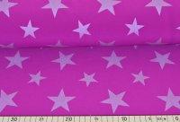 Softshell Reflex kleine Sterne magenta