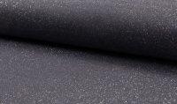 Bündchen Lurex silber grau  068
