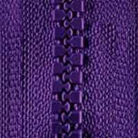 Reißberschluss P60 40 cm  teilbar lila 183