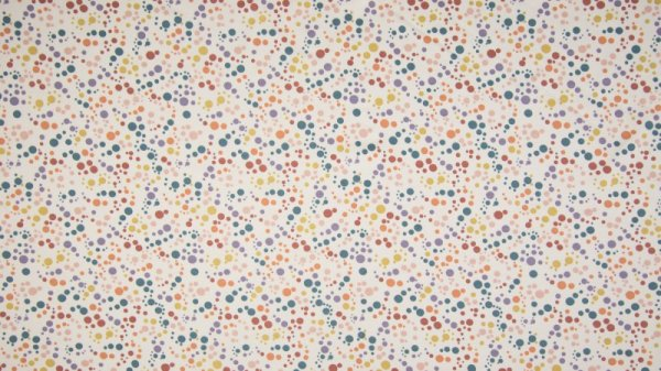 Jersey Mix Dots Dusty White