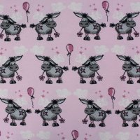 Bio Jersey Donkey Lou rosa