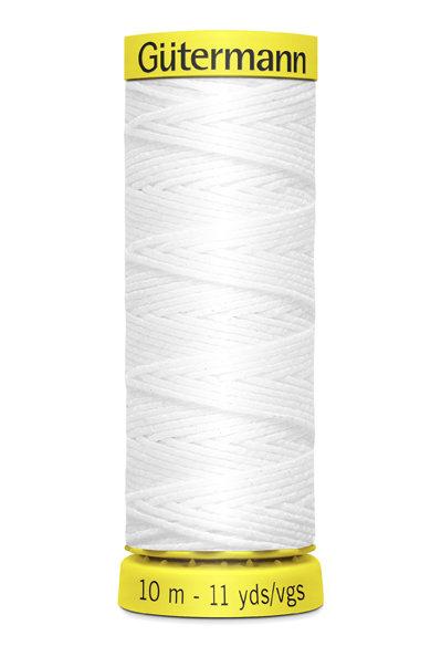 Elasticfaden weiß 10m  5019