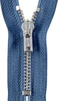 Reißverschluss 16 cm rauchblau 0235