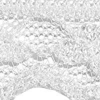 Perlonspitze 12mm weiß