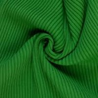 Bündchen gerippt grasgrün
